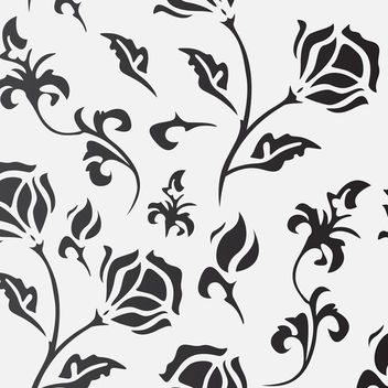 Seamless Floral Background - Kostenloses vector #340523