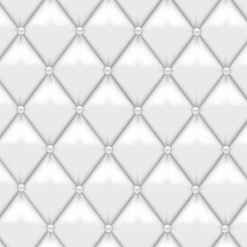 White Leather Upholstery - vector gratuit #340583