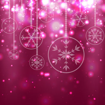 Red Christmas Background - vector #340763 gratis