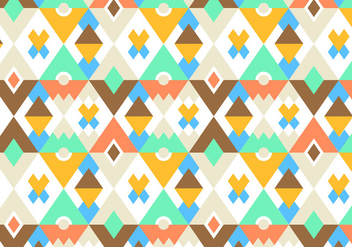 Bright Pattern Vector Background - vector gratuit #341353