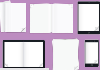 Flip Pages - vector #341623 gratis