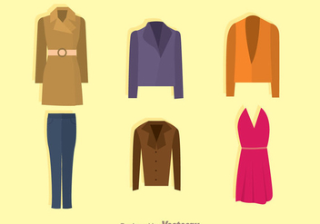 Fashion Collection - vector gratuit #341973