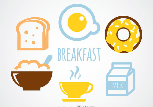 Breakfast Vector - Free vector #342303