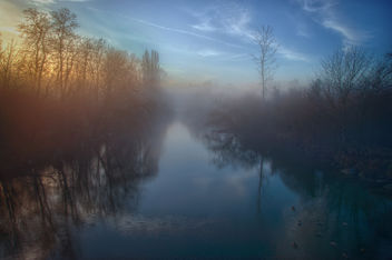 Sunrise over River - image gratuit #342443