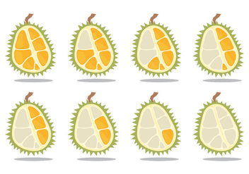 Durian Eat Time Lapse - vector gratuit #342633