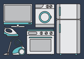 Vector Appliance - vector #342763 gratis
