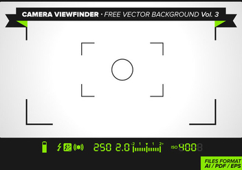 Camera Viewfinder Free Vector Background Vol. 3 - Kostenloses vector #342933