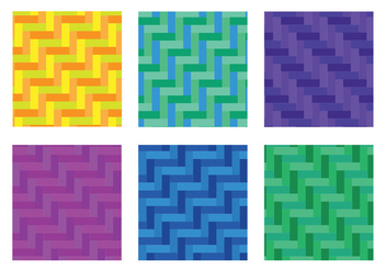 Herringbone Pattern Diagonal Fullcolor Vector - бесплатный vector #343033
