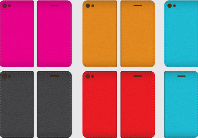 Leather Phone Cases - Free vector #343083