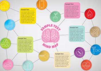 Mind Map - Free vector #343193