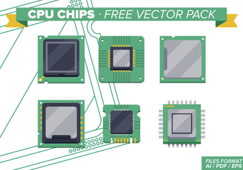 Cpu Chips Free Vector Pack Vol. 2 - Kostenloses vector #343323