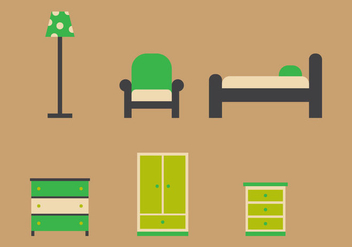 Free Kids Room Vector Icons #4 - Free vector #343793