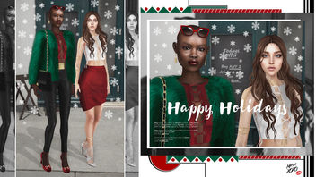 Happy Holidays ft. Nata Porolo - image gratuit #343963