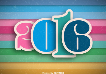 2016 background - vector #344363 gratis