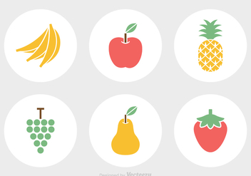 Free Fruit Vector Icons - бесплатный vector #344473