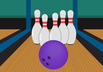 Bowling Alley - Free vector #344743