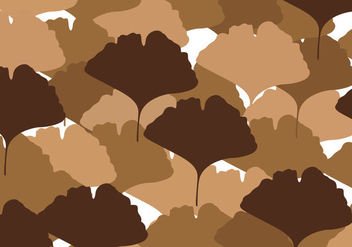 Free Ginkgo Leaves Vector - Free vector #344753
