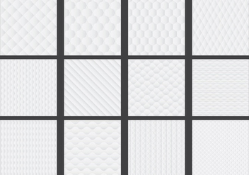 Mattress Patterns - Free vector #345143