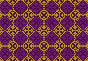 Seamless Thai Pattern Vector Background - бесплатный vector #345293