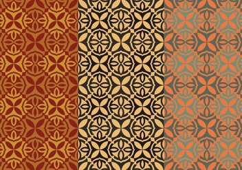 Free Thai Seamless Vector Patterns, Vol. I - бесплатный vector #345413