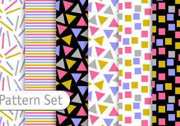 Decorative Pattern Design - vector gratuit #345553