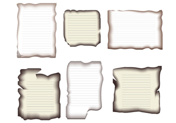 Burnt Paper Edge - vector gratuit #346343