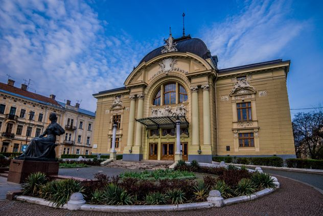 Music and Drama theater in Chernivtsi, Ukrainian - Free image #346593