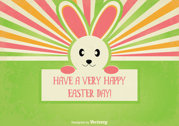 Cute Easter Illustration - Free vector #346713
