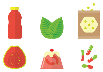 Guava Vector Products - vector gratuit #346733