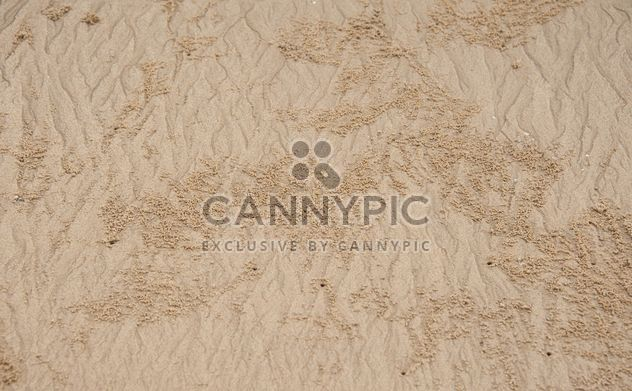 Background of natural sand on beach - image gratuit #347203