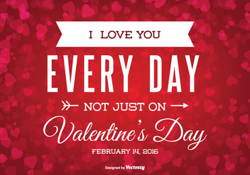 Valentine's Day Illustration - vector gratuit #347383