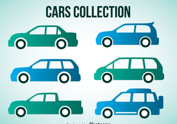 Cars Collection - vector gratuit #347453