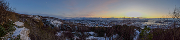 Linken snow view panorama - Free image #348343