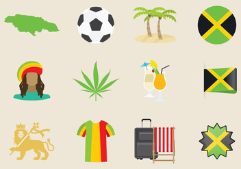 Jamaica Icons - Free vector #348693