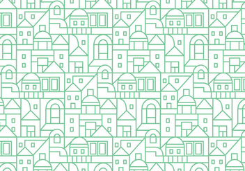 Buildings pattern background - Free vector #348723