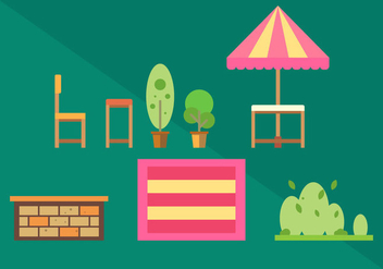 Free Family Picnic Vector Illustrations #2 - Kostenloses vector #348823