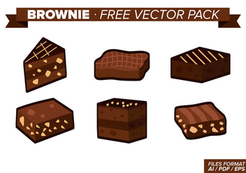 Brownie Free Vector Pack - Kostenloses vector #348843