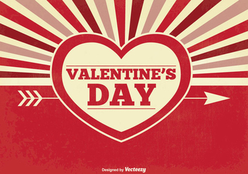 Valentine's Day Background - vector gratuit #349013