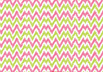 Pibk And Green Chevron pattern - Kostenloses vector #349183