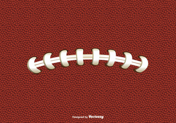 Football Texture and Lace - бесплатный vector #349343
