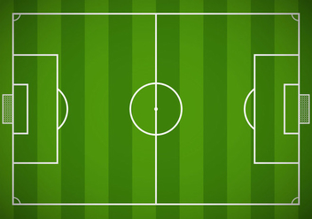 Free Soccer Field Vector - Free vector #349983