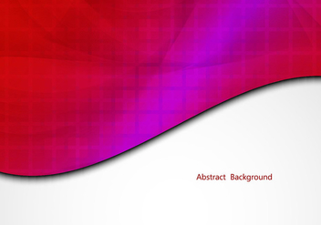 Free Red Colorful Vector Background - Kostenloses vector #350063