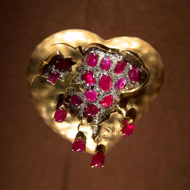 Heart from collection of Salvador Dali - image #350223 gratis