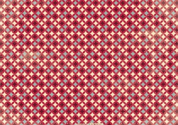 Old Retro Style Vector Pattern Background - Free vector #350503