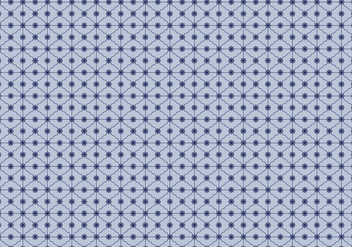 Blue Grid Pattern Vector - vector #350623 gratis