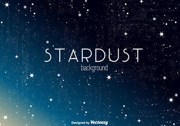 Stardust Vector Background - Free vector #350703