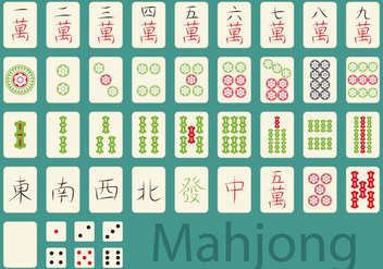 Mahjong Game - vector gratuit #350723