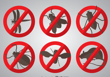 Pest Icons Vector - бесплатный vector #352143