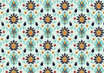 Indian Pattern Vector - Kostenloses vector #352343