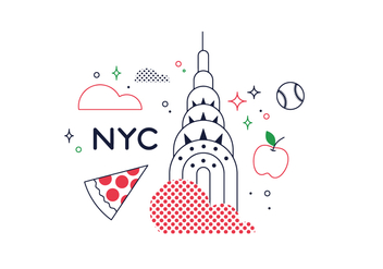 Free New York Vector - vector gratuit #352613